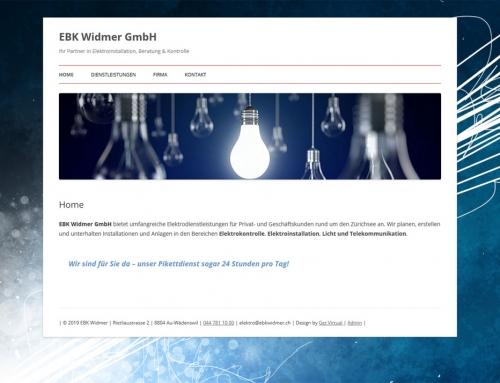 EBK Widmer GmbH