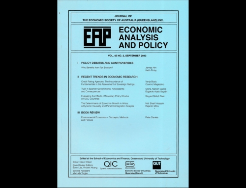 EAP (Economic Analysis and Policy)